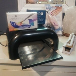 Complete gel nail equipment
